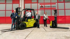 Logistics BusinessNew Swiss Dealer for Clark Europe
