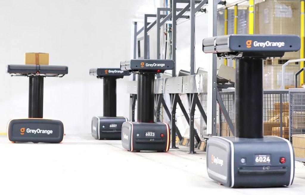 Logistics BusinessRobot Specialist GreyOrange to Automate Rex Brown Warehouses