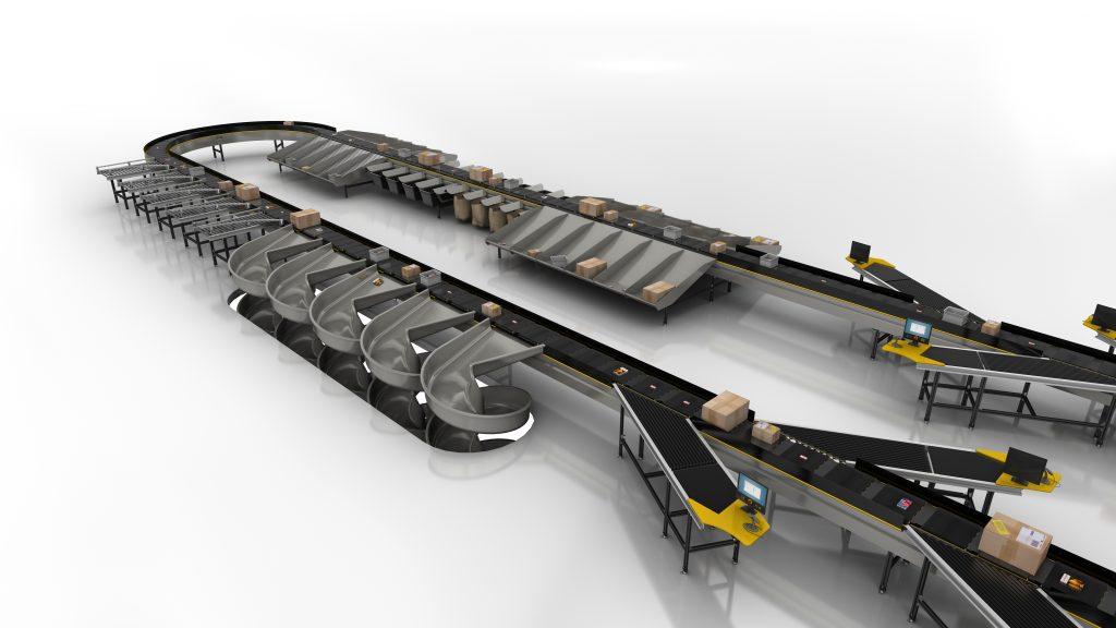 Logistics BusinessInterroll Wins Big Crossbelt Sorter Contract in North America