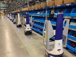 Logistics BusinessLocus Robotics Teams Up with Balloon One in UK Fulfilment Space