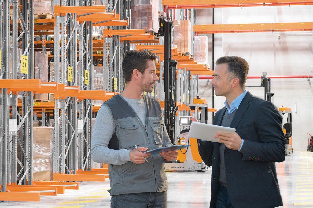 Logistics BusinessIndustry View: Competent Advice as an Economic Success Factor