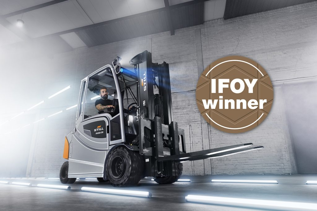Logistics BusinessIFOY Triumph for STILL in Counter Balanced Truck Category