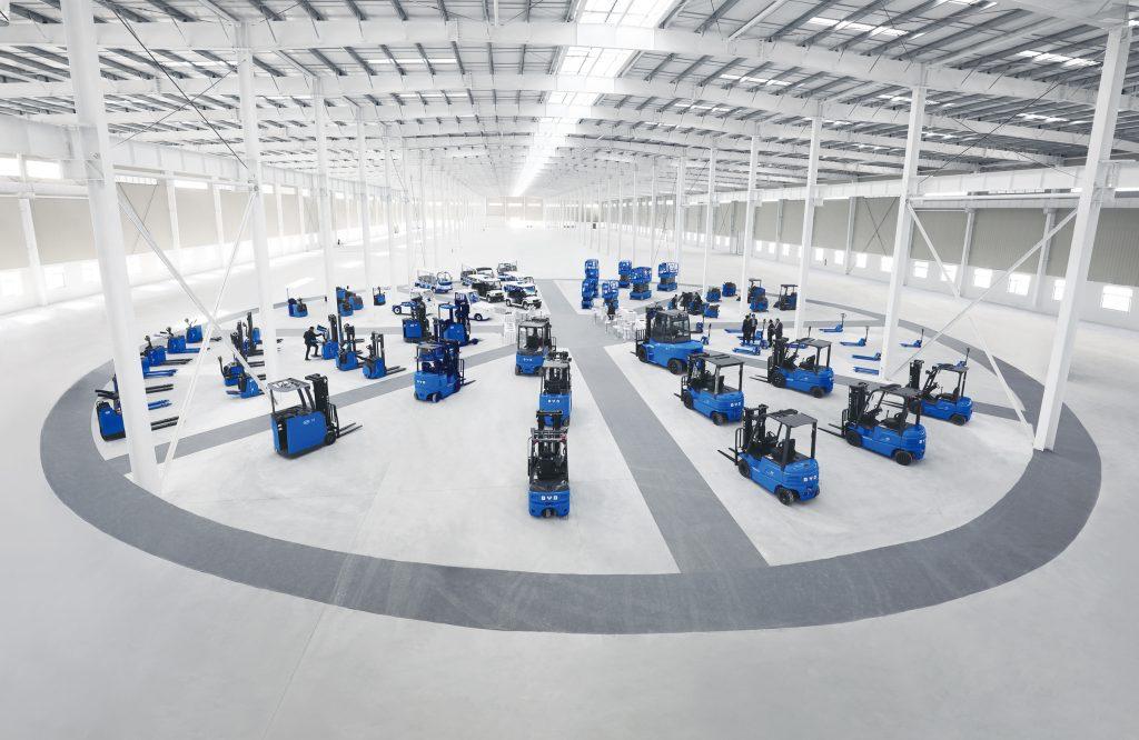 Logistics BusinessElectric Forklift Maker BYD Signs Up Translift Bendi as UK Dealer