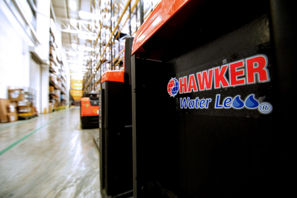 Logistics BusinessEnerSys Water Less Battery Range Extension Slashes Topping-Up Costs