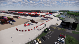 Logistics BusinessMajor Infrastructure Project Begins at UK Rail Freight Terminal