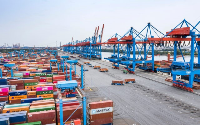 Logistics BusinessMachine Learning Module at Hamburg Port