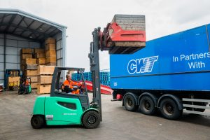 Logistics BusinessNon-stop Productivity with Lithium-ion