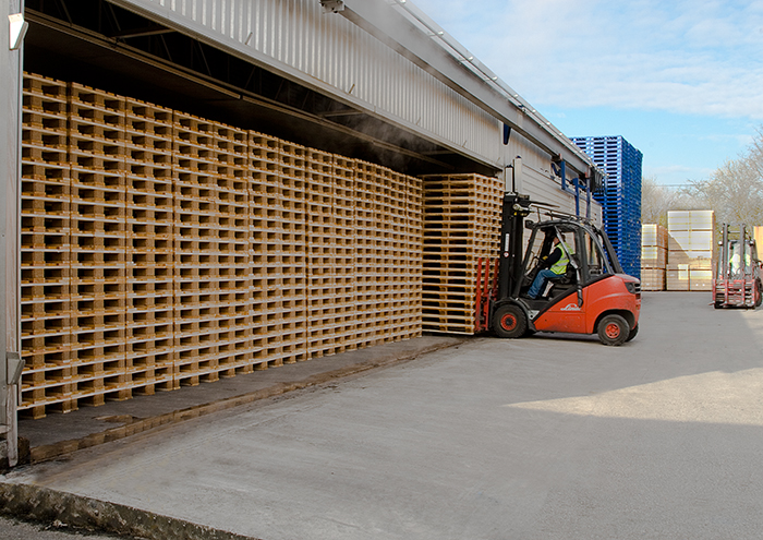 Logistics BusinessDocument Allows further Wood Packaging Repair Options