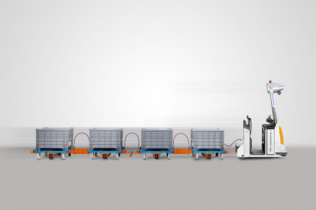 Logistics BusinessIndustry View: Automated Tugger Trains Boost Ergonomics, Efficiency and Value