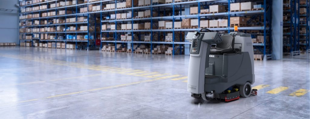 Logistics BusinessLargest Autonomous ride-on Cleaning Machine