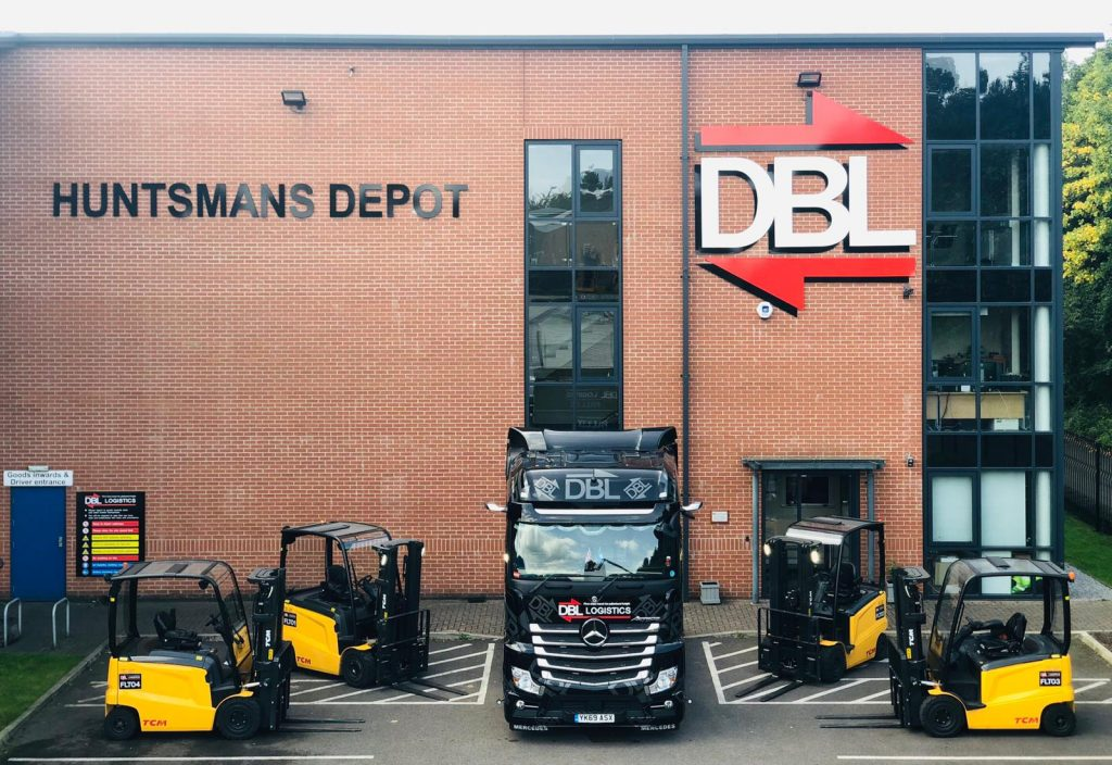 Logistics BusinessHaulier Switches to Electric Forklifts