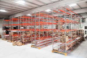 Logistics BusinessAdjustable Pallet Racking System installed in New Facilities