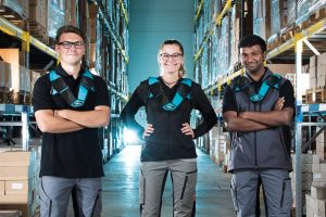 Logistics BusinessPick-by-voice Solution without the Headset