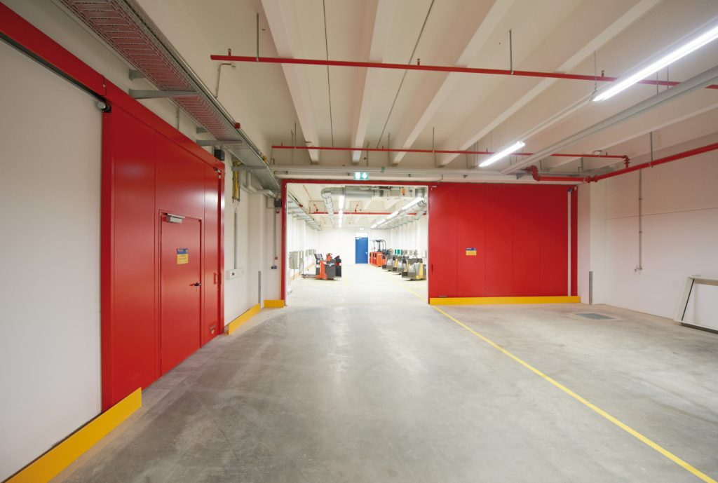 Logistics BusinessOpening the Door to Enhanced Fire Safety