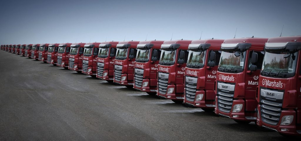 Logistics BusinessMarshalls Expands its Fleet of Trucks