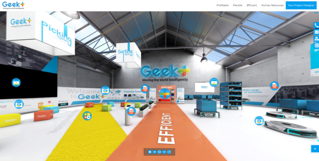 Logistics BusinessGeek+ Launches new Online Customer Experience