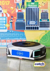 Logistics BusinessRetailer Deploys over 100 Automated Mobile Robots