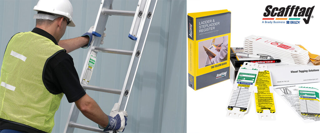 Logistics BusinessImprove ladder safety with Laddertag from Scafftag