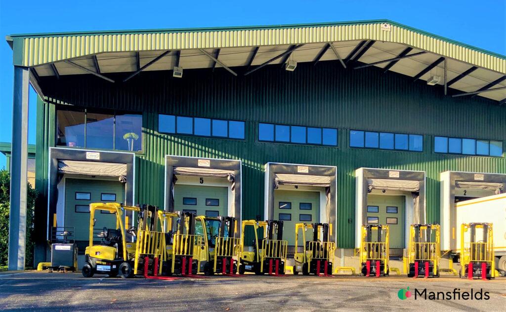 Logistics BusinessMansfields go Green with Lithium Ion Batteries for Machine Fleet