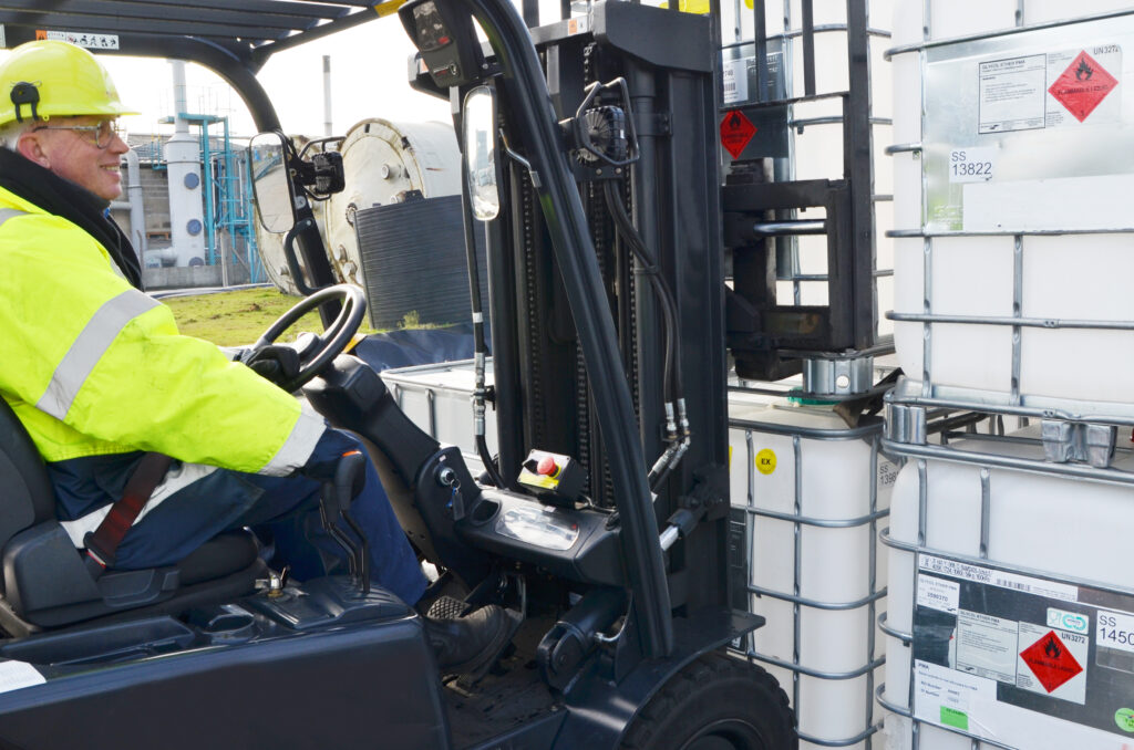 Logistics BusinessUp to 20% of Ex-Forklifts Potentially Unsafe