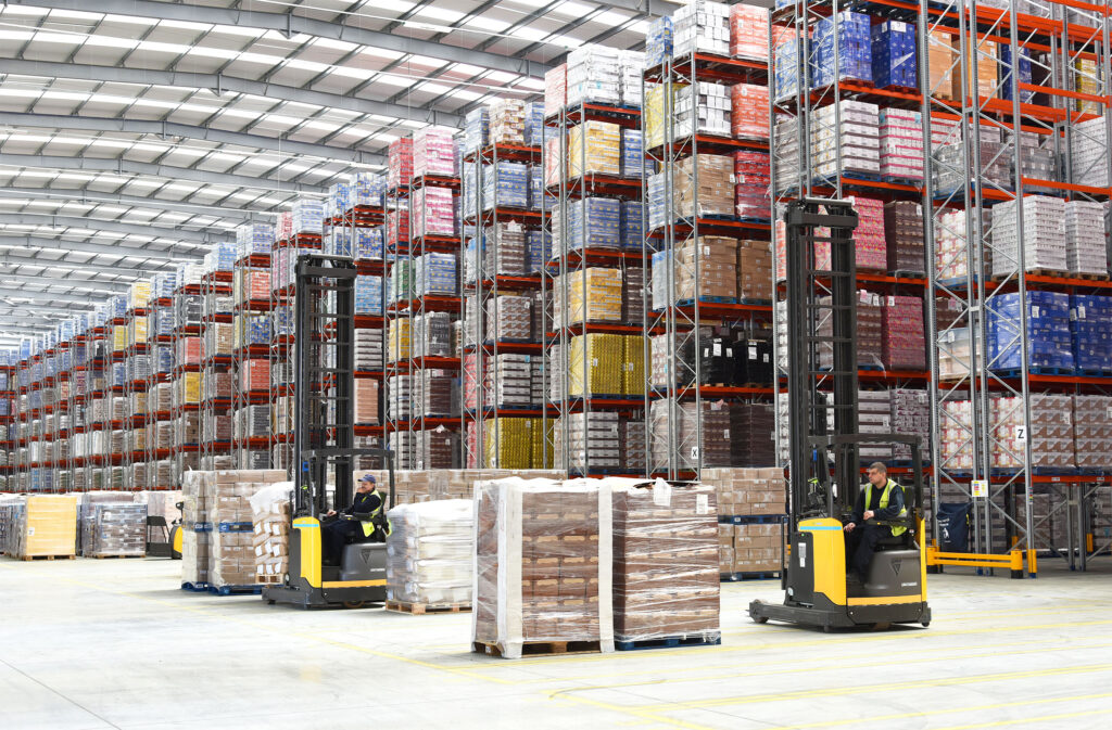 Logistics Business35,000 Pallet Positions for New Warehouse