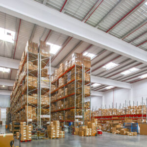 Logistics BusinessPallet Racking and Picking Solutions Installed