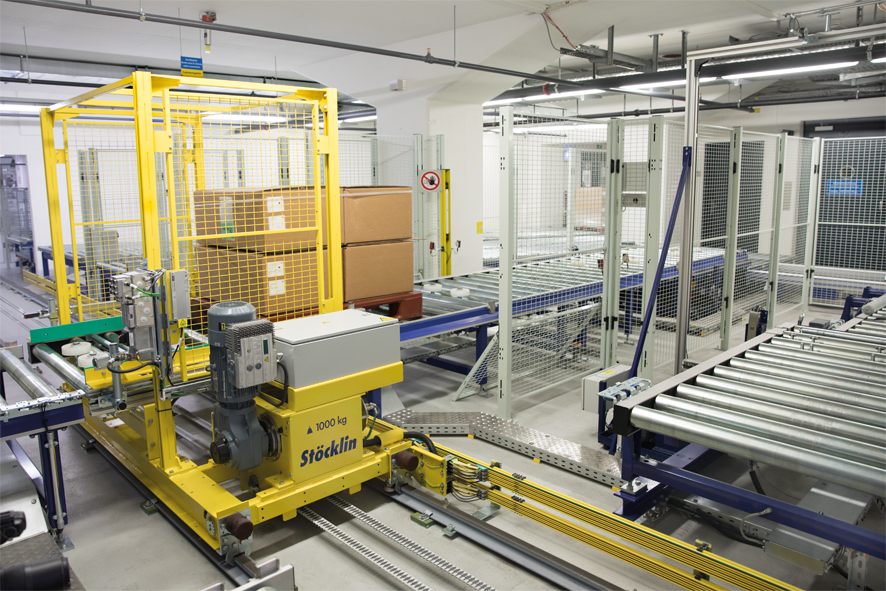 Logistics BusinessStoecklin Logistics Opens New North American Headquarters