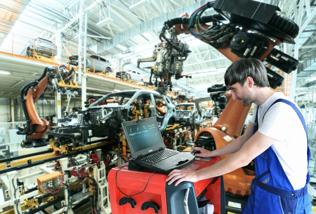 Logistics BusinessNew Semi-Rugged Laptop for Manufacturing and Automotive Professionals