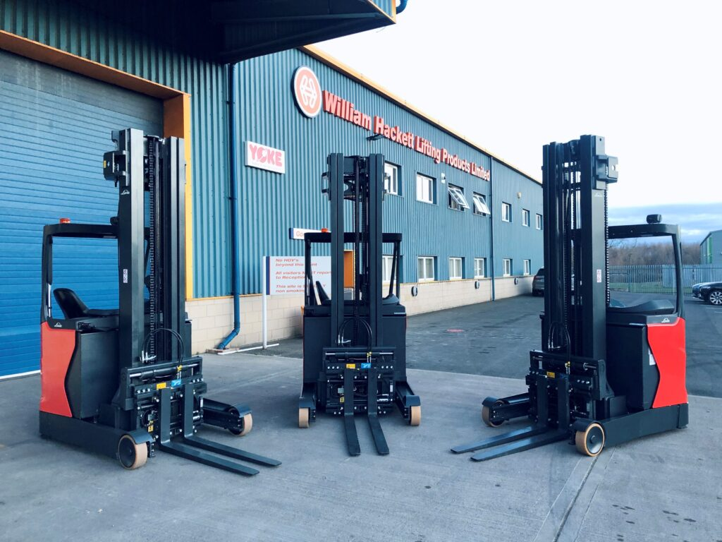 Logistics BusinessNew KAUP Forklift Truck Attachments at William Hackett Lifting Products