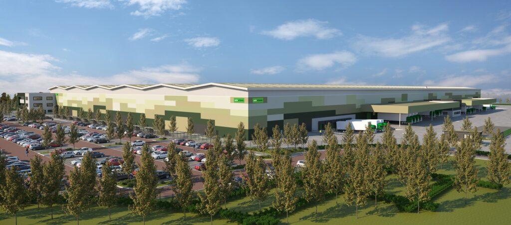 Logistics BusinessPlans Approved for 670,000 sq.ft. UK Distribution Centre