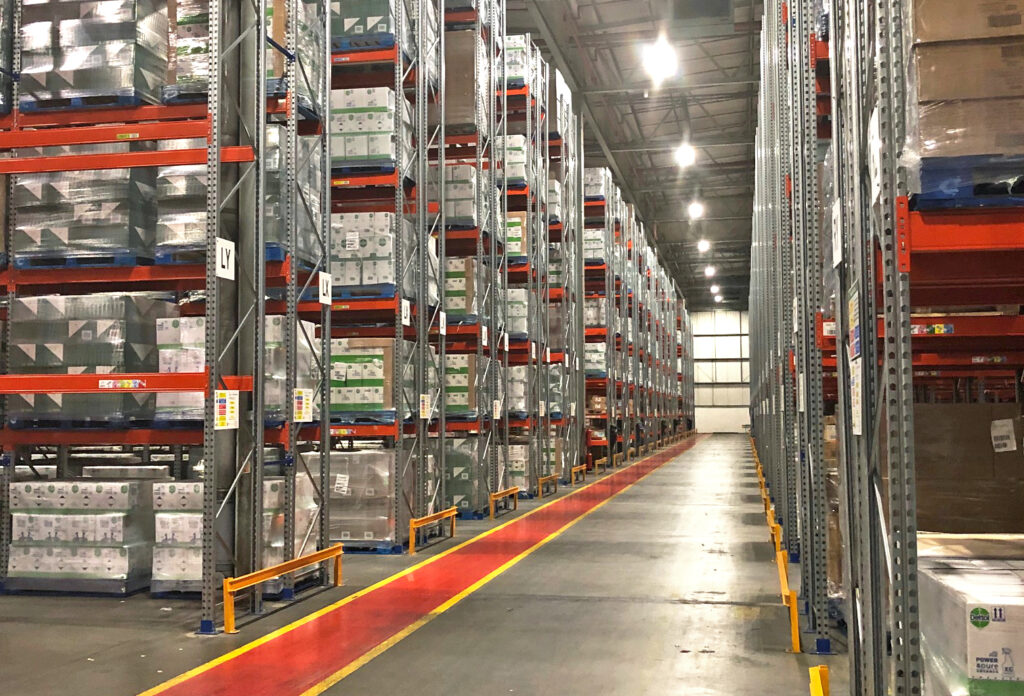 Logistics BusinessNew Pallet Racking Solution