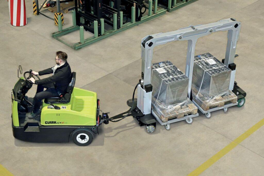 Logistics BusinessTugger Train Launched for More Efficient Production Logistics