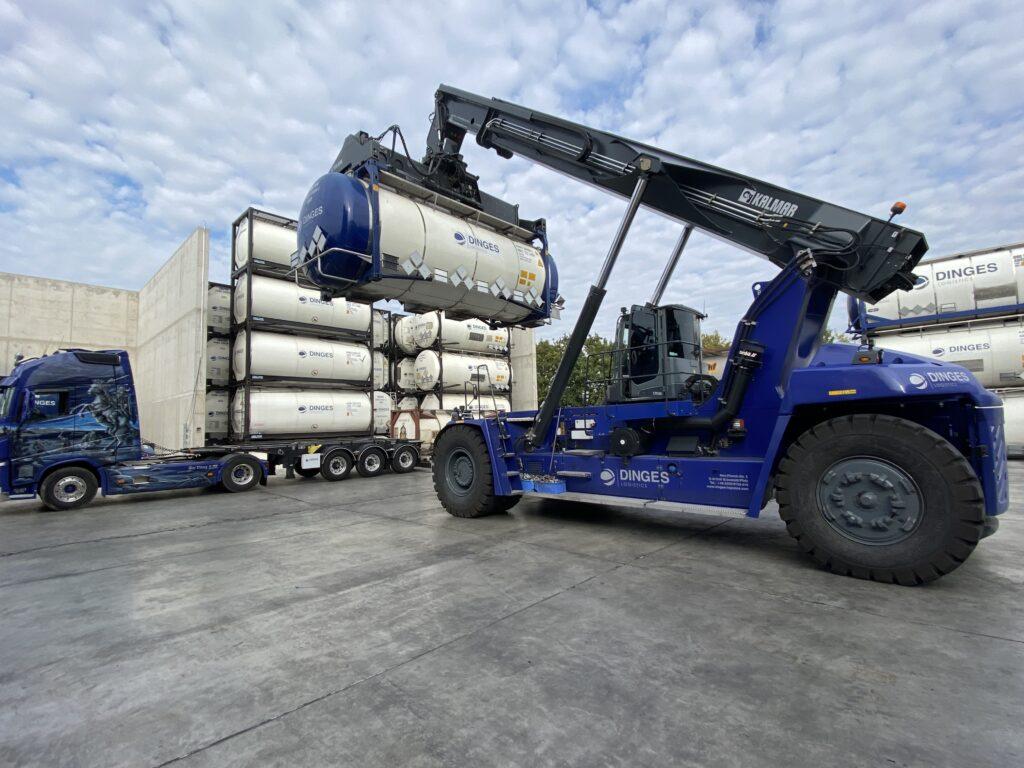 Logistics BusinessDinges Logistics Selects new TOS