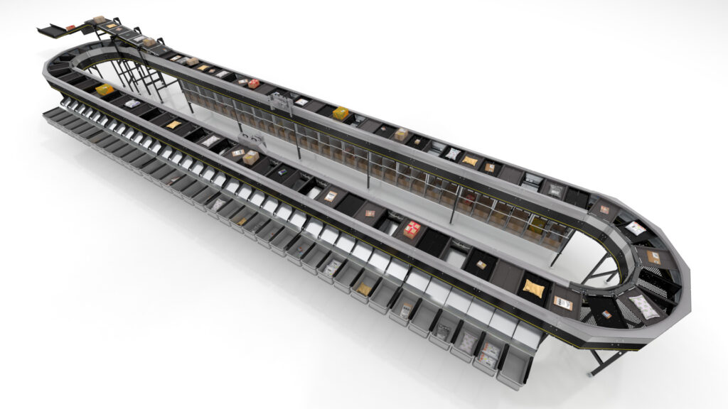 Logistics BusinessNew Split Tray Sorter Launched