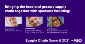 Logistics BusinessIGD Supply Chain Summit 2021