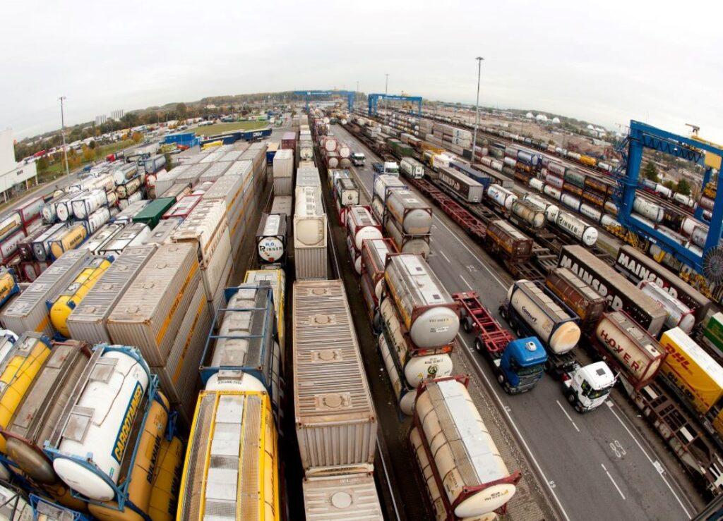 Logistics BusinessIntermodal Terminal Pushes Boundaries