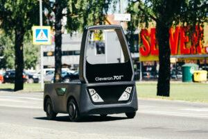 Logistics BusinessCleveron unveils driverless last mile delivery vehicle