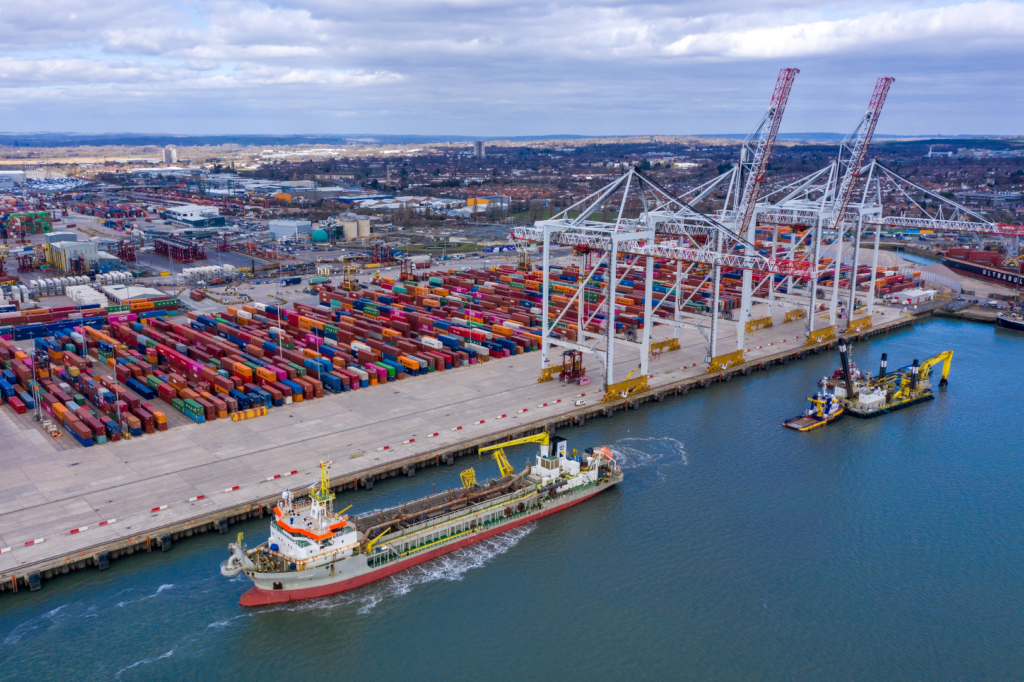 Logistics BusinessDP World invests £40m in Southampton