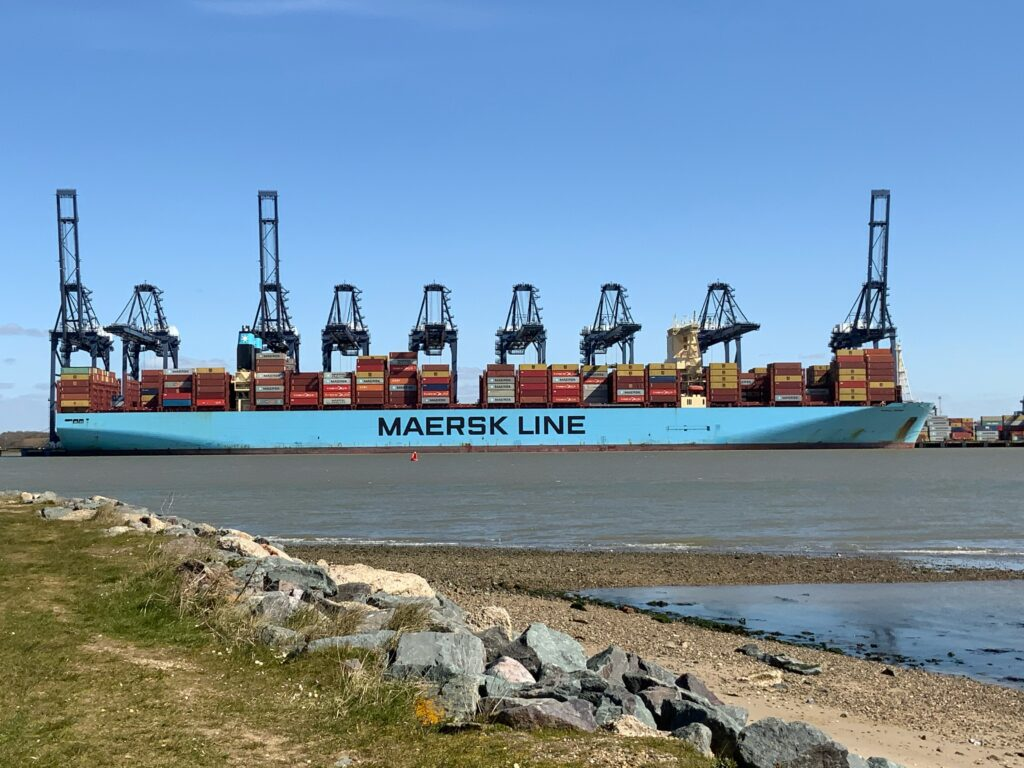 Logistics BusinessEnhanced deep-water berth at Felixstowe