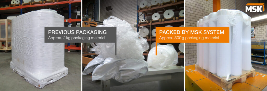 Logistics BusinessMSK conserves packing resources