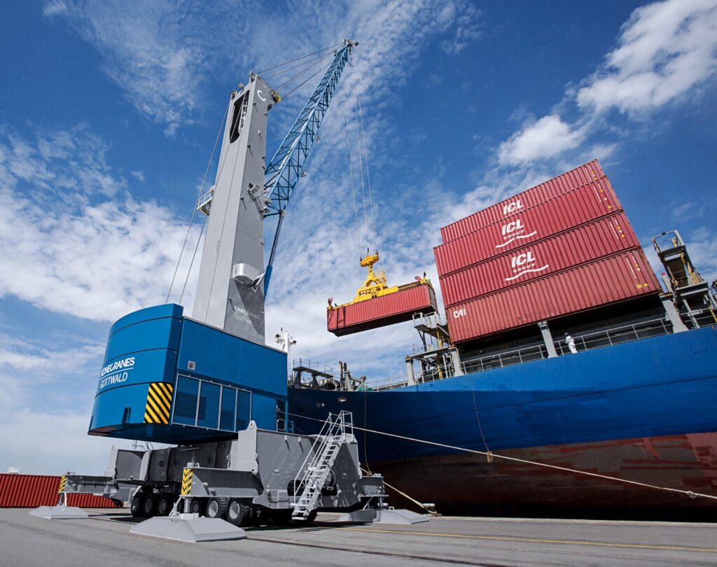 Logistics BusinessSicilian terminal expands mobile harbour crane fleet