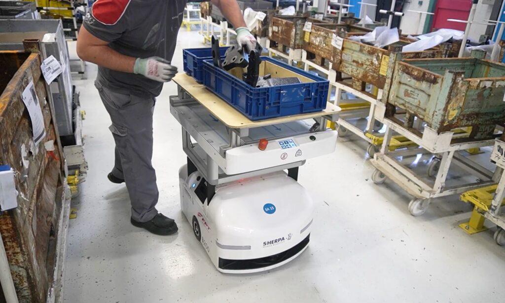 Logistics BusinessSherpa deploys robot fleet at French plant