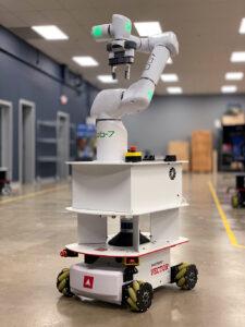 Logistics BusinessRobotics firms collaborate over cobot