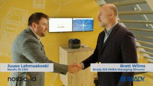 Logistics BusinessBrady acquires Nordic ID