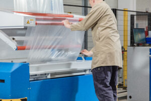 Logistics BusinessPlastic waste reduced with high-capacity packaging system