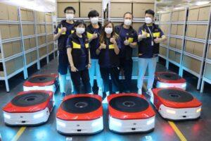 Logistics BusinessOperations start at smart eCommerce warehouse