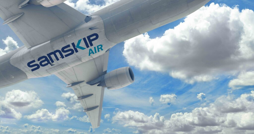 Samskip Air opens at Schiphol Airport