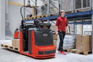 Logistics BusinessLinde order pickers gain semi-automation option