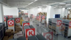 Logistics BusinessGeek+ implements Asia's largest smart grocery warehouse