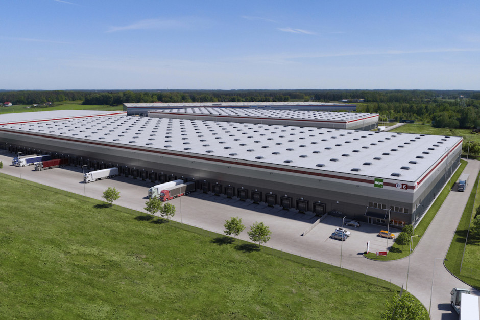 Logistics BusinessInPost warehouse is one Poland's greenest